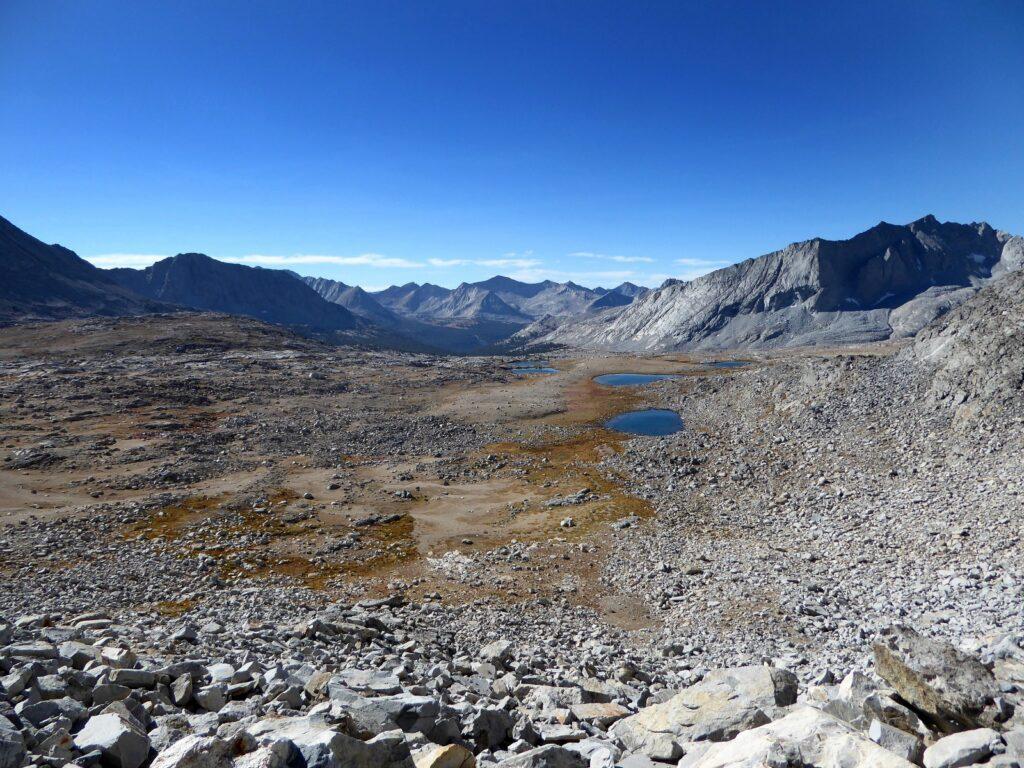 John Muir Trail Part 4: Upper Palisade Lake to Whitney Summit